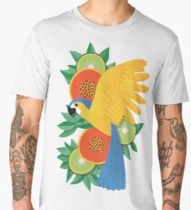 Tropical parrot Men's Premium T-Shirt