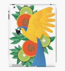 Tropical parrot iPad Case/Skin