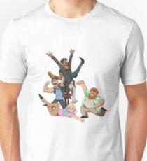 Dream Daddy Gang! Slim Fit T-Shirt