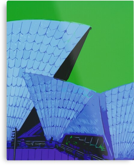 Abstract Sydney Opera House by johnnycdesigns