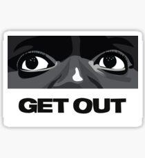 Get Out Sticker