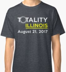 Totality Illinois Solar Eclipse August 21st 2017 Shirt Classic T-Shirt
