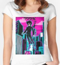 MOB Women's Fitted Scoop T-Shirt