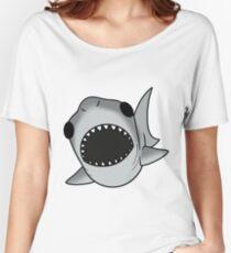 cute silly Shark Women's Relaxed Fit T-Shirt