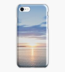 port phillip sunset iPhone Case/Skin