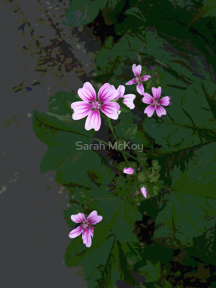 Pink is a Flower by Sarah McKoy