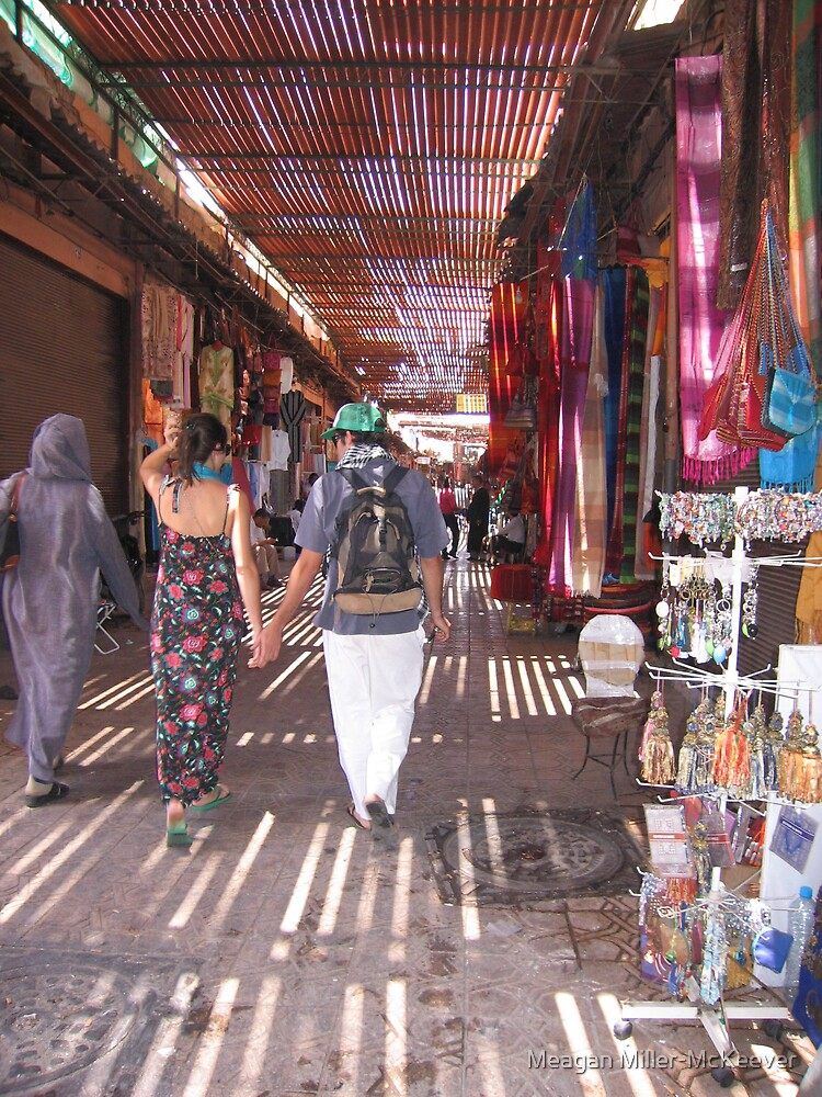 Moroccan Streets by Meagan Miller-McKeever