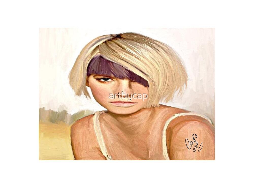 Blonde ,but no Bimbo! by artbycap