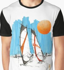 Windsurf 4 (with sun) Graphic T-Shirt