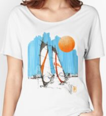 Windsurf 4 (with sun) Women's Relaxed Fit T-Shirt