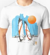 Windsurf 4 (with sun) T-Shirt