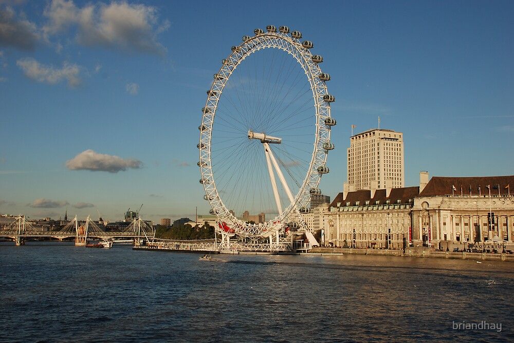 London eye by briandhay