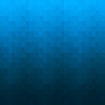 Hexagonal Overlay - Deep Sky Blue by hogies
