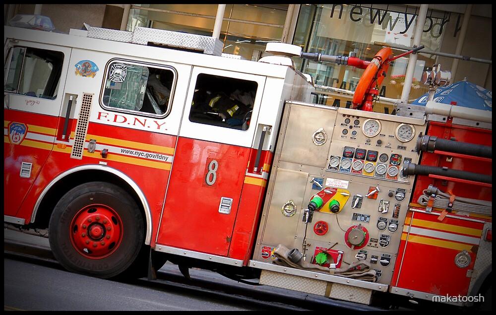 FDNY Fire Truck by makatoosh