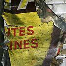 Métro - Toutes jaunes by Yves Roumazeilles