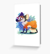 Dumb Fox Greeting Card