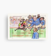 Coot Rugby Canvas Print