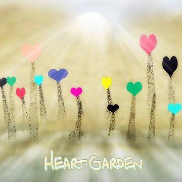 Heart Garden by CarolM