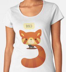 Vector Red Panda Women's Premium T-Shirt