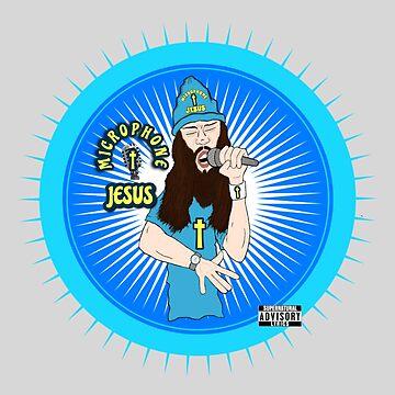 MICROPHONE JESUS by DRAWGENIUS