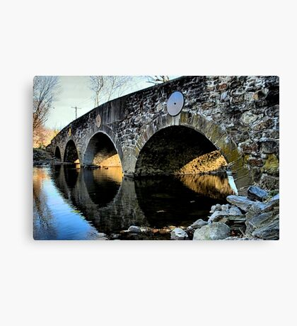 Meadows Bridge Canvas Print