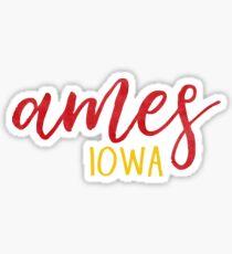 Ames, Iowa Sticker