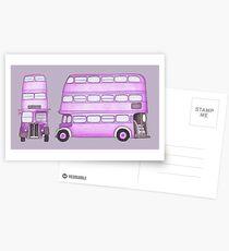 Postales Big Purple Bus
