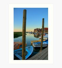 Blakeney Harbour Art Print