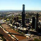Melbourne - Eureka Skydeck in Miniture by John Dalkin