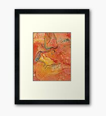 Spicy Spice Framed Print