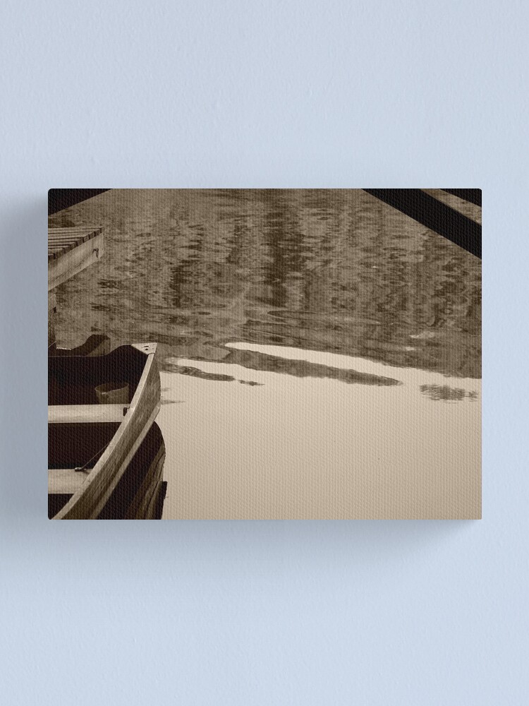 Alternate view of Gone fishing Canvas Print