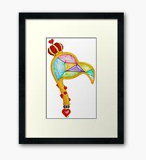 Scepter of the Queen of Heart Framed Print