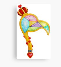 Scepter of the Queen of Heart Metal Print