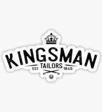 Kingsman tailors Sticker