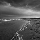 Lonely Beach by EvaMcDermott