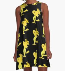 Woodstock A-Line Dress