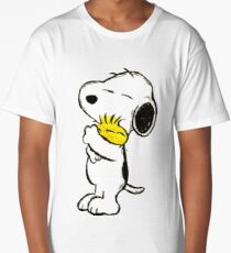 Snoopy and Woodstock Long T-Shirt