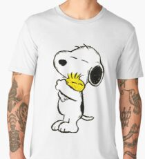 Snoopy and Woodstock Men's Premium T-Shirt