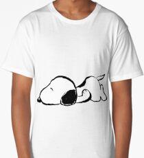 Snoopy sleeping Long T-Shirt