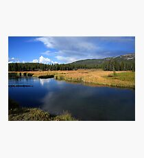 Tranquil Yellowstone Photographic Print