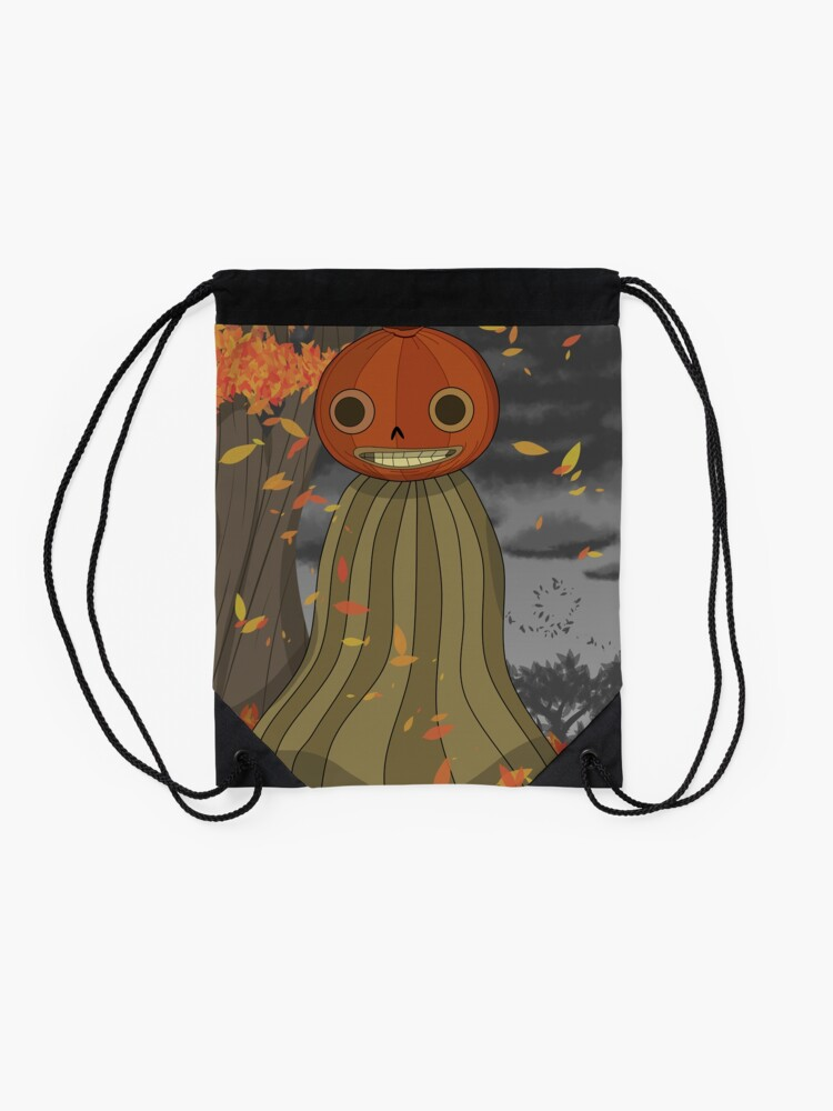 Alternate view of Enoch Over the Garden Wall Drawstring Bag