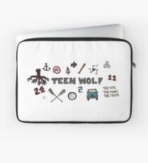 Teen Wolf icons Laptop Sleeve