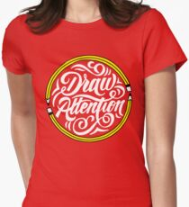Draw Attention Women's Fitted T-Shirt