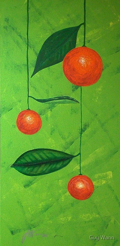 Christmas Oranges by Guy Wann