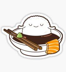 Entspannte Sushi Sticker