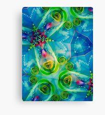 Jellyfish Heaven I Canvas Print
