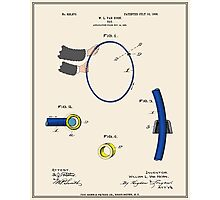 Hula Hoop Patent - Colour Photographic Print
