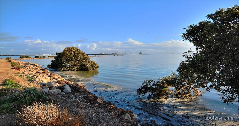 St Kilda Beach - South Australia by wotzisname