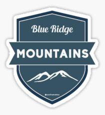 Pegatina Blue Ridge Hipster Badge