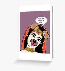 Trust me, I'm not a kutti  Greeting Card